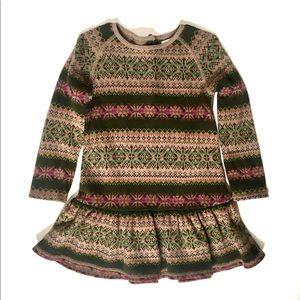 Ralph Lauren Nordic inspired dress 24 months